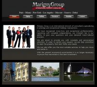 Site vitrine  Marigny Group